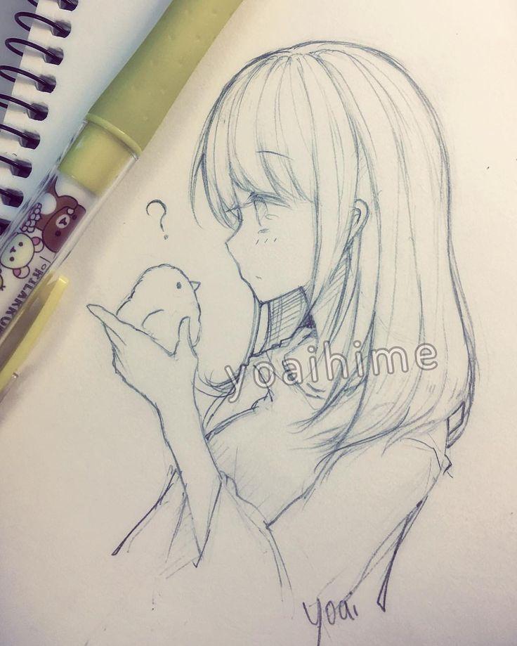 Drawn paper anime #12