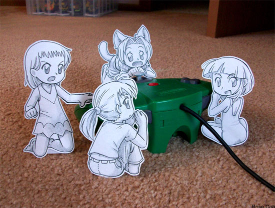 Drawn paper anime Art and Graphics Clever Anime