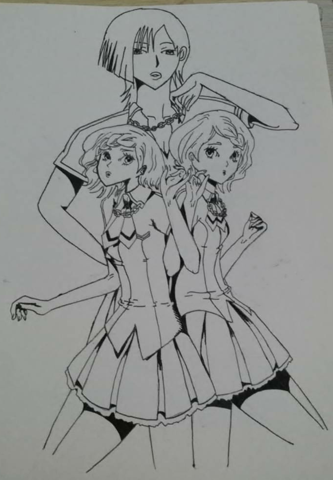 Drawn paper anime Drawing: ago Steps How to