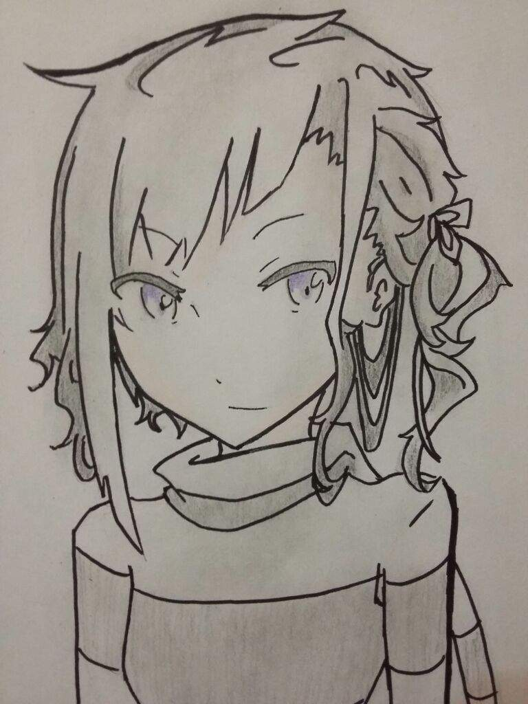 Drawn paper anime Anime Amino drawing A4