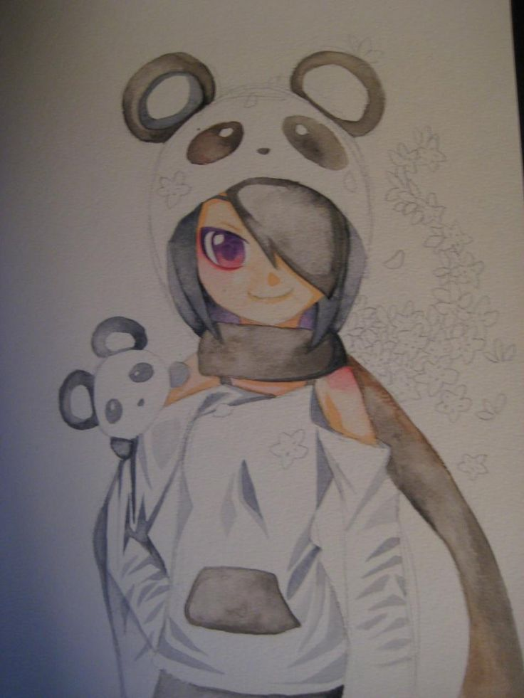 Drawn paper anime #7