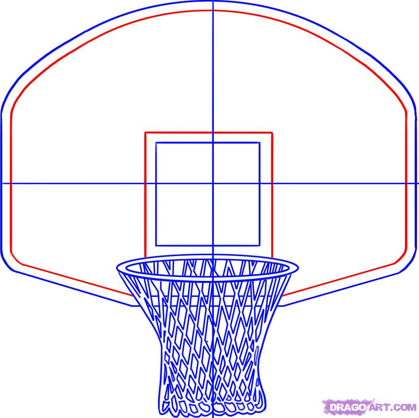 Drawn paper basketball Step Pinterest player…for a