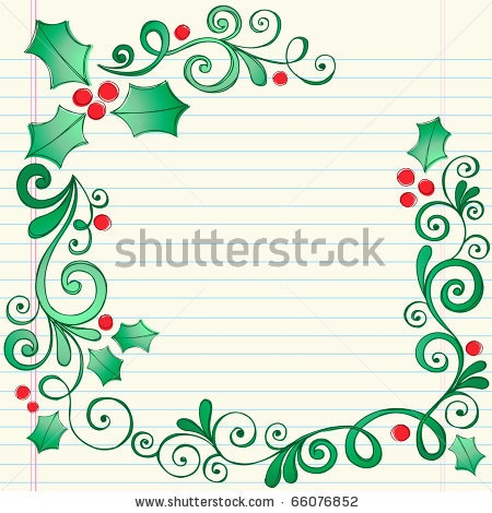 Stock Weight vector Sketchy Border