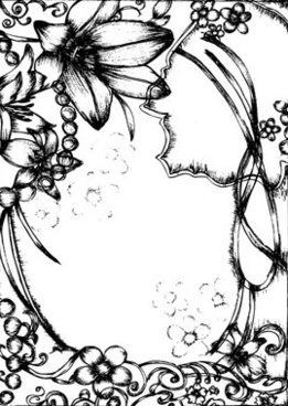 Pen clipart one Download border  drawing Drawing
