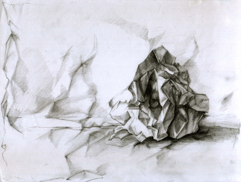 Drawn paper crumpled This crumpled images and 13