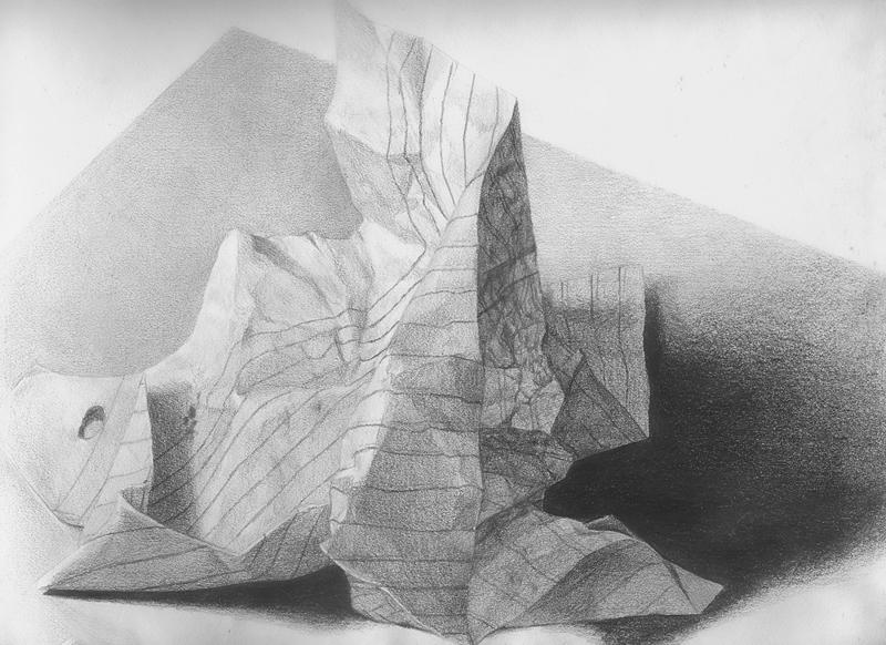 Drawn paper crumpled Paper DeviantArt Keh ven Crumpled