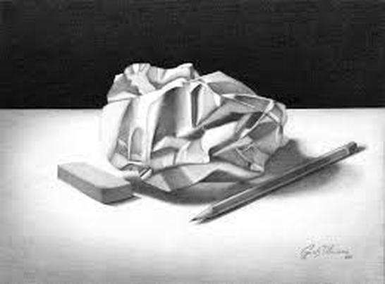 Drawn paper crumpled Homework Crumpled Classes Drawing Picture