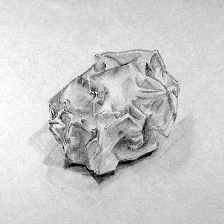 Drawn paper crumpled Piece IMGFLASH Paper Drawing Crumpled