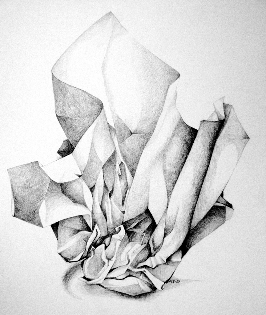 Drawn paper crumpled Up on study Keh BlackMagdalena