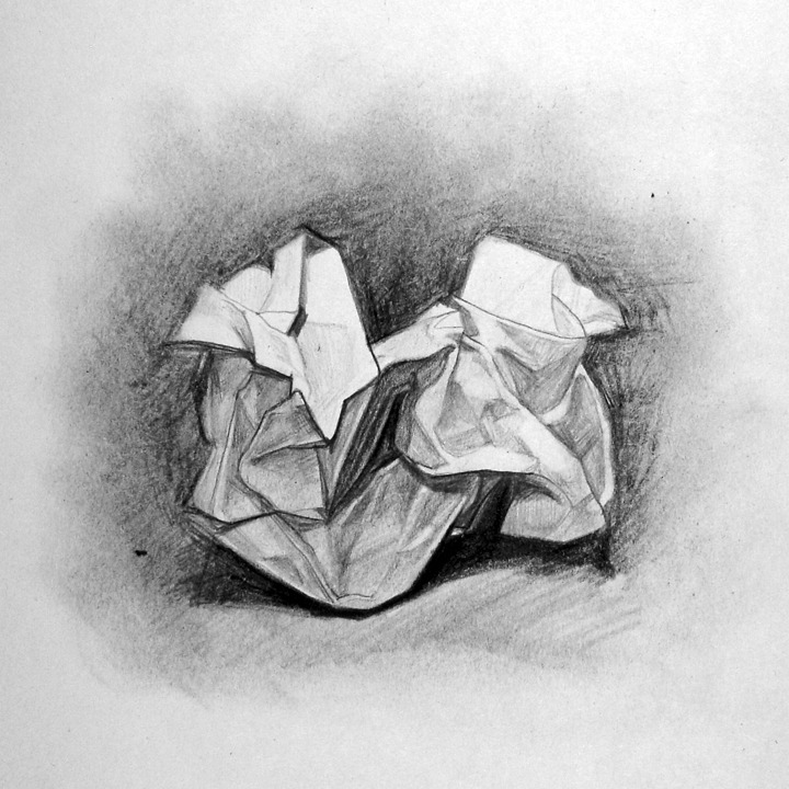 Drawn paper crumpled Paper BYUH Crumpled Crumpled Drawing