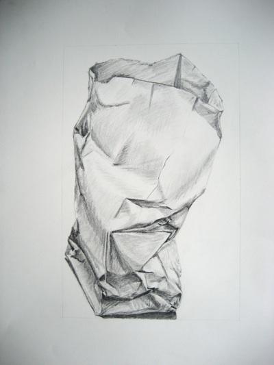 Drawn paper crumpled Paper Drawing  Bag