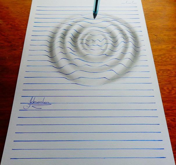 Drawn paper dimensional Illusion Paper Old Pinterest Remarkable