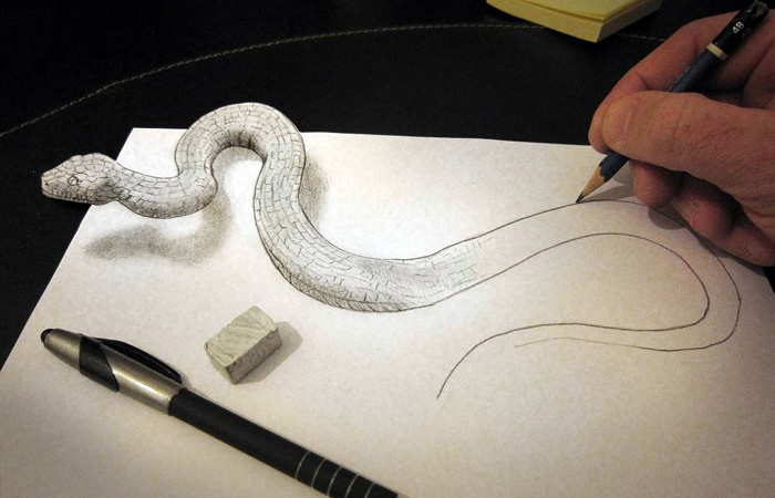 Drawn paper dimensional With Pencil with dimensional on