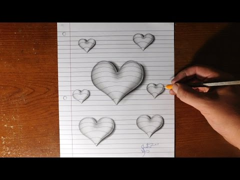 Drawn paper drawing 3d To art hand Draw Line