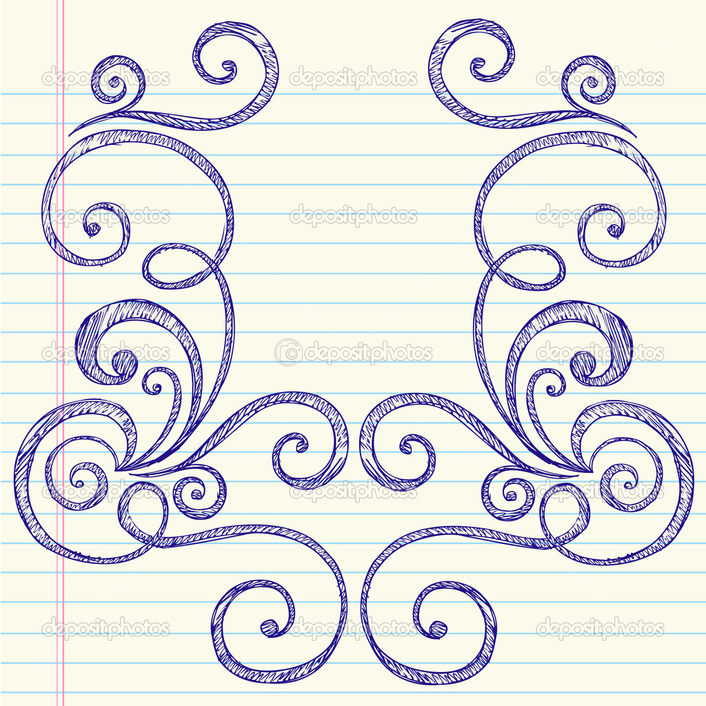Drawn paper easy Download Cute Designs Border Draw