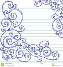 Drawn paper Cool Draw Designs 4 Border