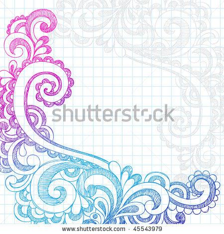 Drawn paper Border Tumblr Design To Paper
