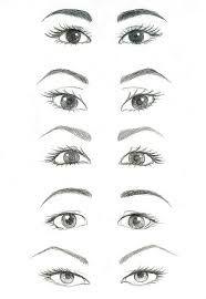 Drawn paper eyebrow You Google by it draw