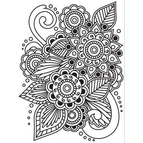 Drawn paper henna design 48 on designs henna henna
