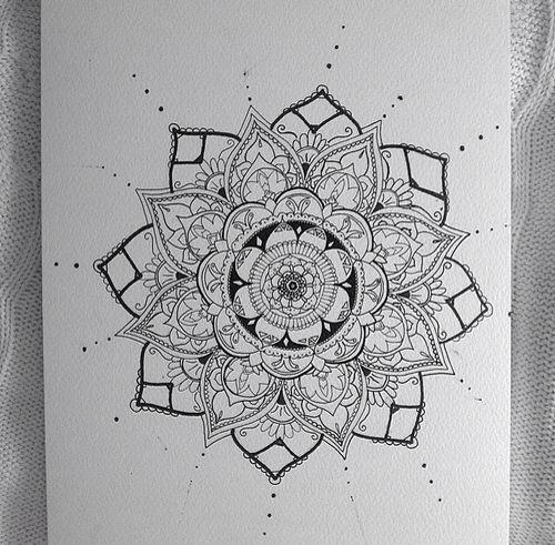 Drawn paper henna design Henna on design ideas Henna