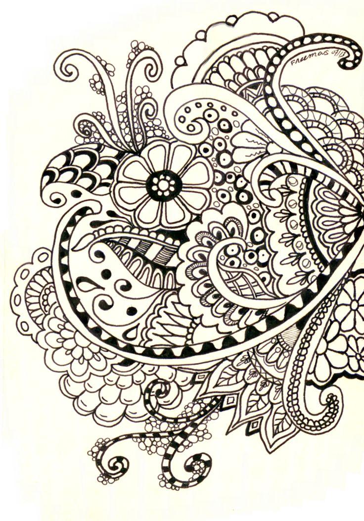 Drawn paper henna design Tattoo Design this Henna Pinterest