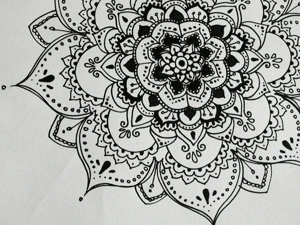 Drawn paper henna design Small Design Tumblr Paper Henna