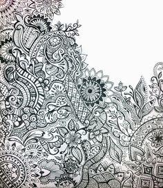 Drawn paper henna design Design Woman Images Veiled Google