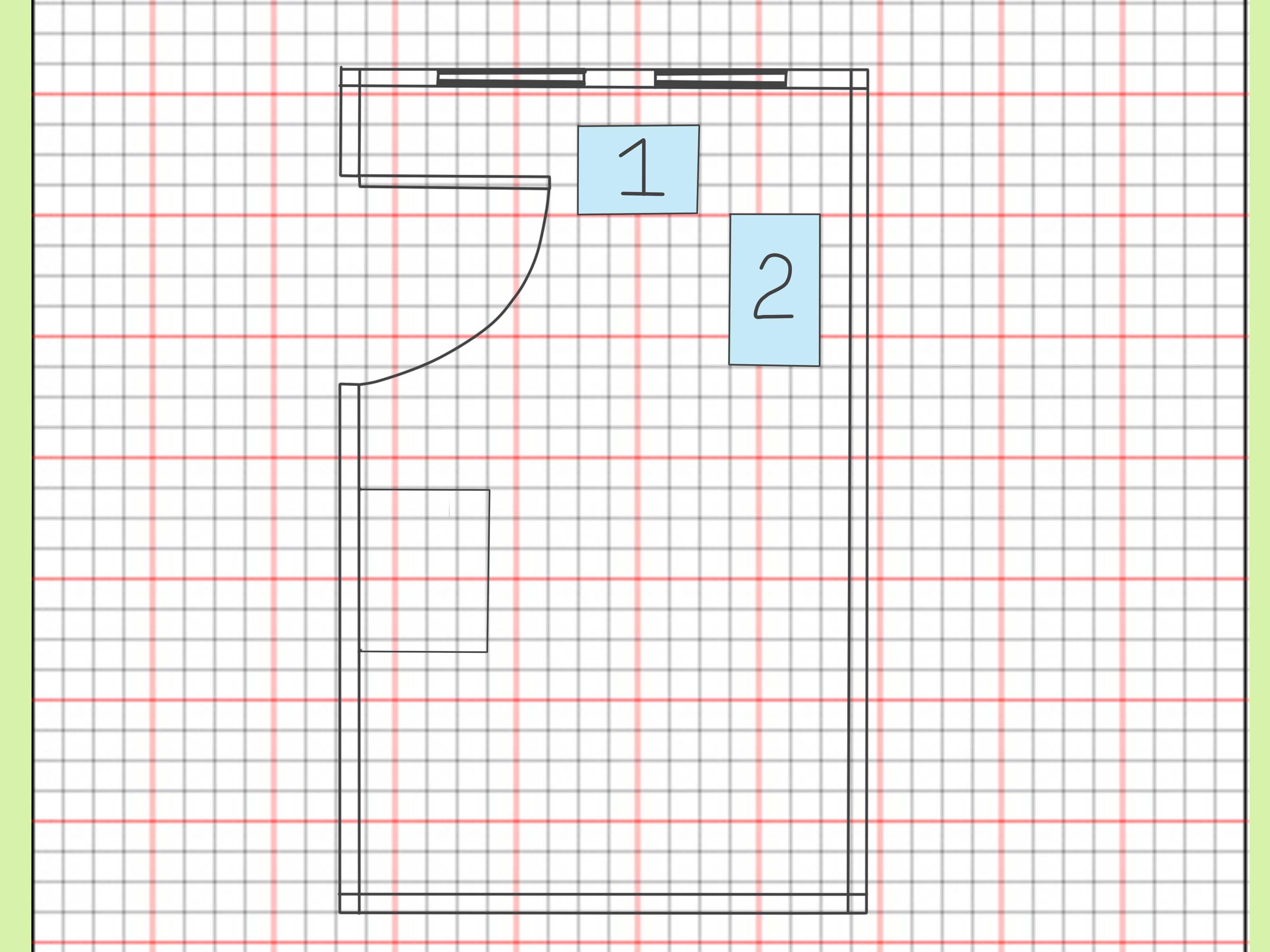 Drawn paper house  Cltsd 1 M 1