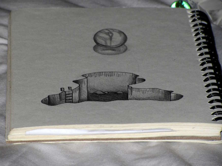 Drawn paper looks 3d #11