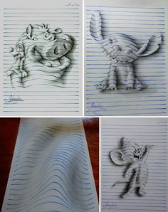 Drawn amd illusion  to Cool of Drawings