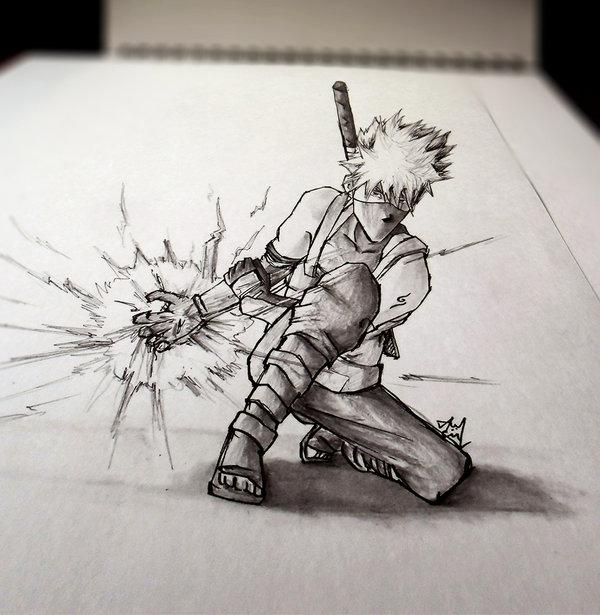 Drawn paper mind blowing ANBU by KAKASHI Iza Tutorials