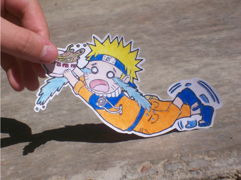 Drawn paper naruto Naruto by Owl on Angelic