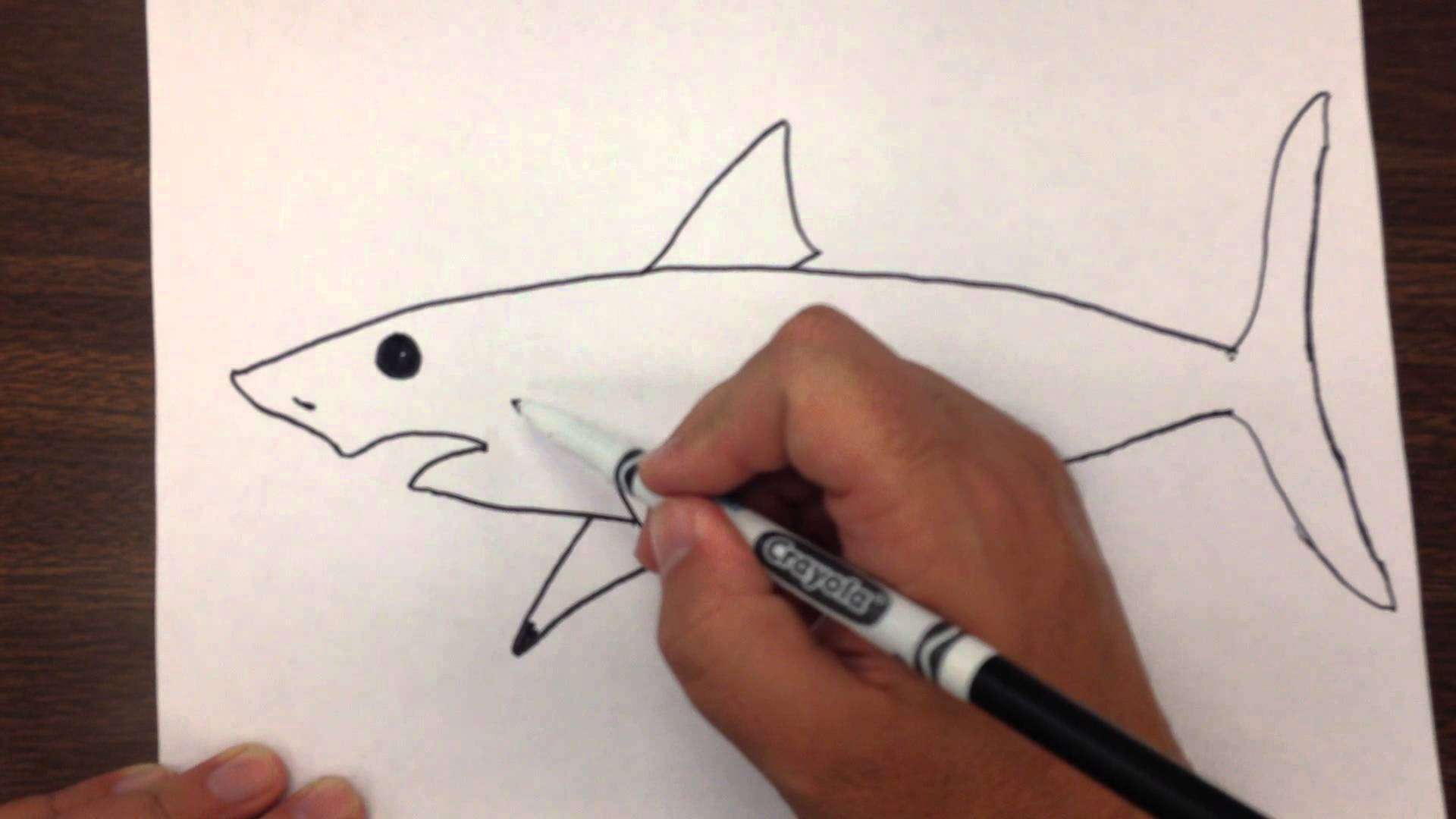 Drawn paper paper step by step #13