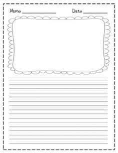 Drawn paper printable Paper workshop Freebie a be