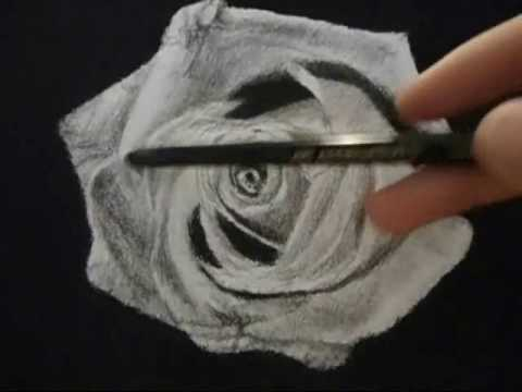 Drawn rose realistic Tutorial realistic flowers to etc