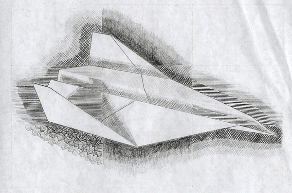 Drawn paper shading My techniques Drawn planes It