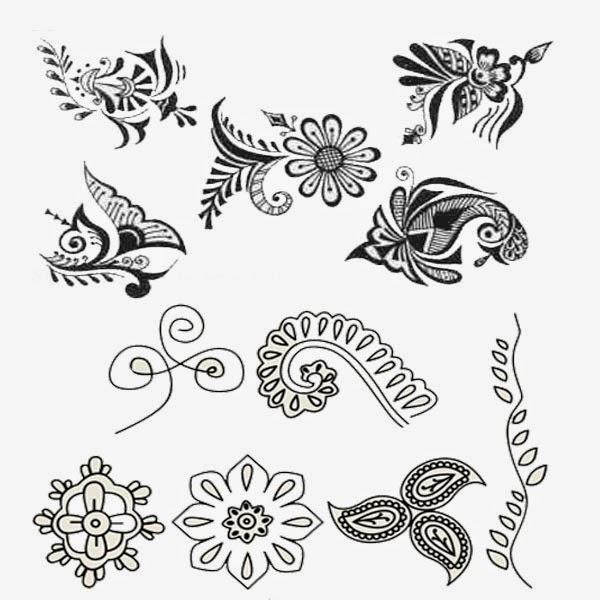 Drawn paper simple Com ganabtc Paper Mehndi Popular