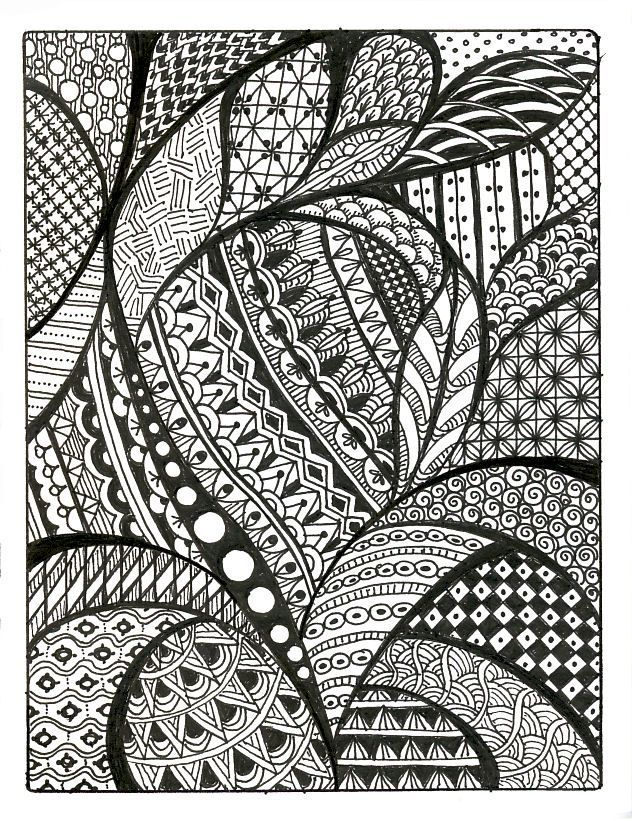 Drawn paper simple #9