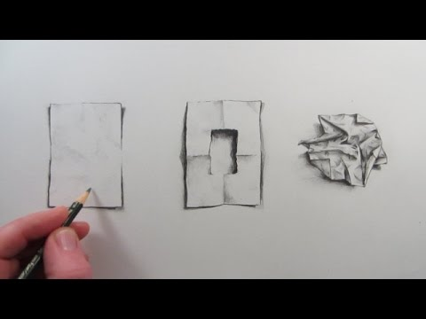 Drawn paper sketch Piece visual YouTube Draw Crumpled