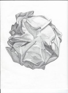 Drawn paper sketch Pinterest Drawing Drawing Crumpled Educational