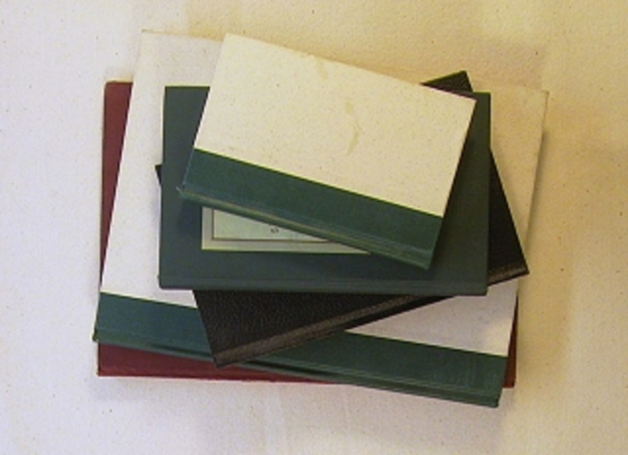Drawn paper ancient WatercolorPainting Book Journals Drawing bound