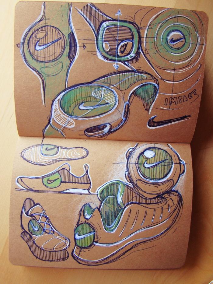 Drawn paper sketchbook Brown 102 images for design