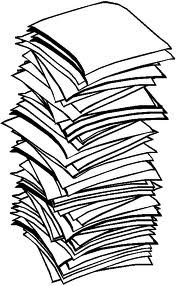 Drawn paper stack paper Paper of Uncategorized Paper
