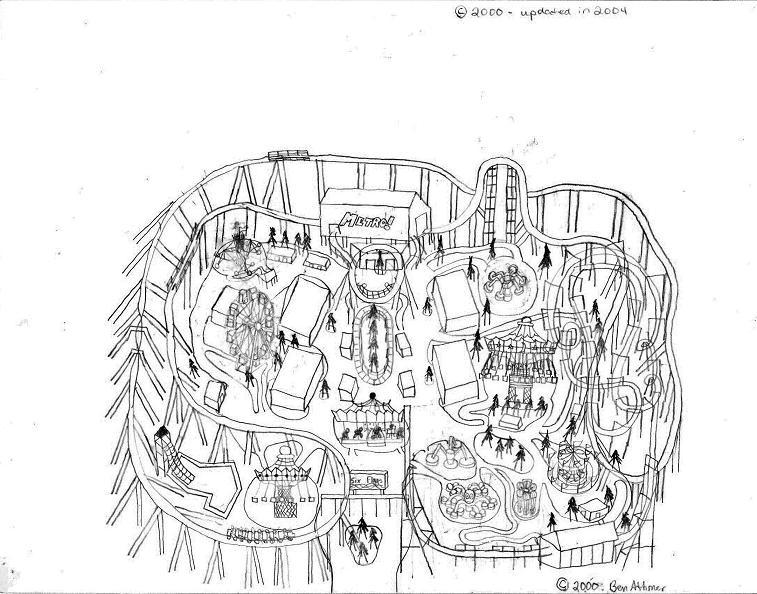 Drawn park Theme S park My Theme