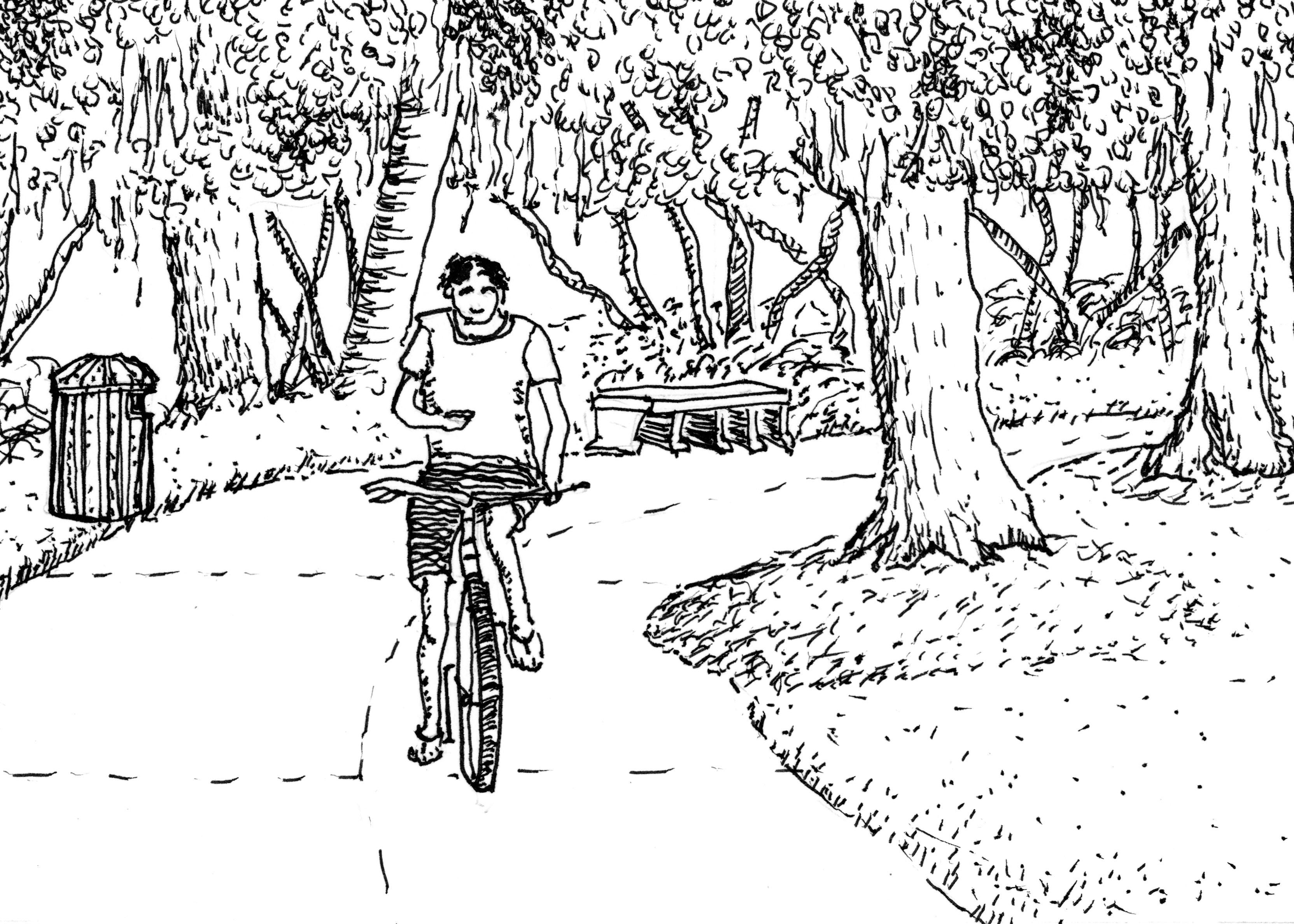 Drawn park Drarwing + Drawing 6 6