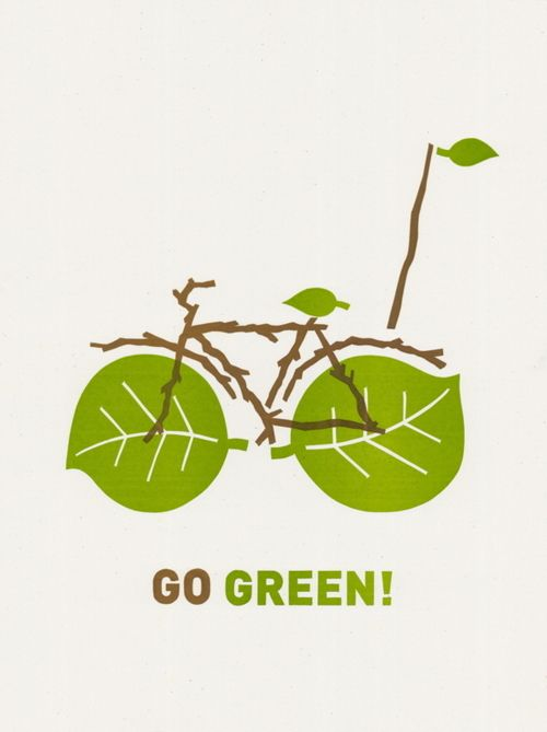 Drawn park go green Posters — GOOD best ideas