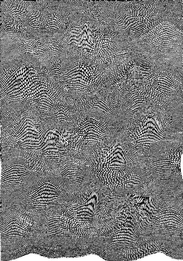 Drawn pattern Intricate Patterns Hand 5 by
