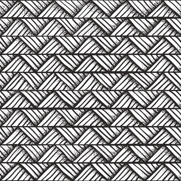 Drawn pattern Decorative Monochrome Hand Pattern Pattern