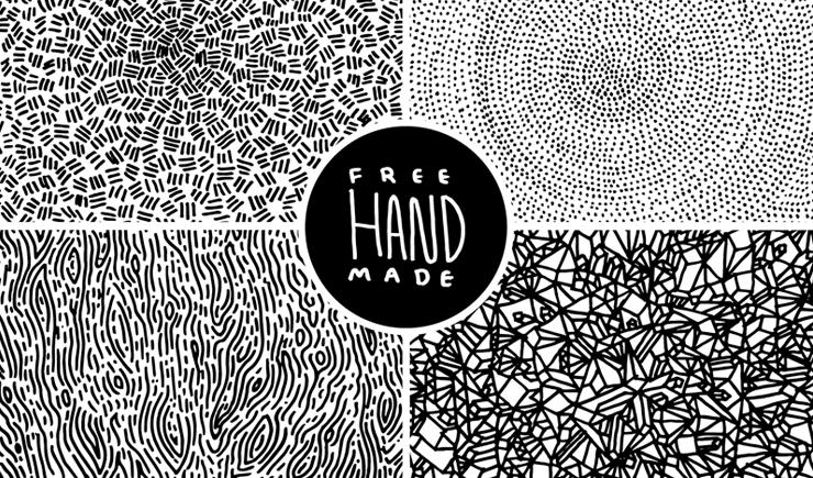Drawn pattern Hand Patterns Drawn 4 by