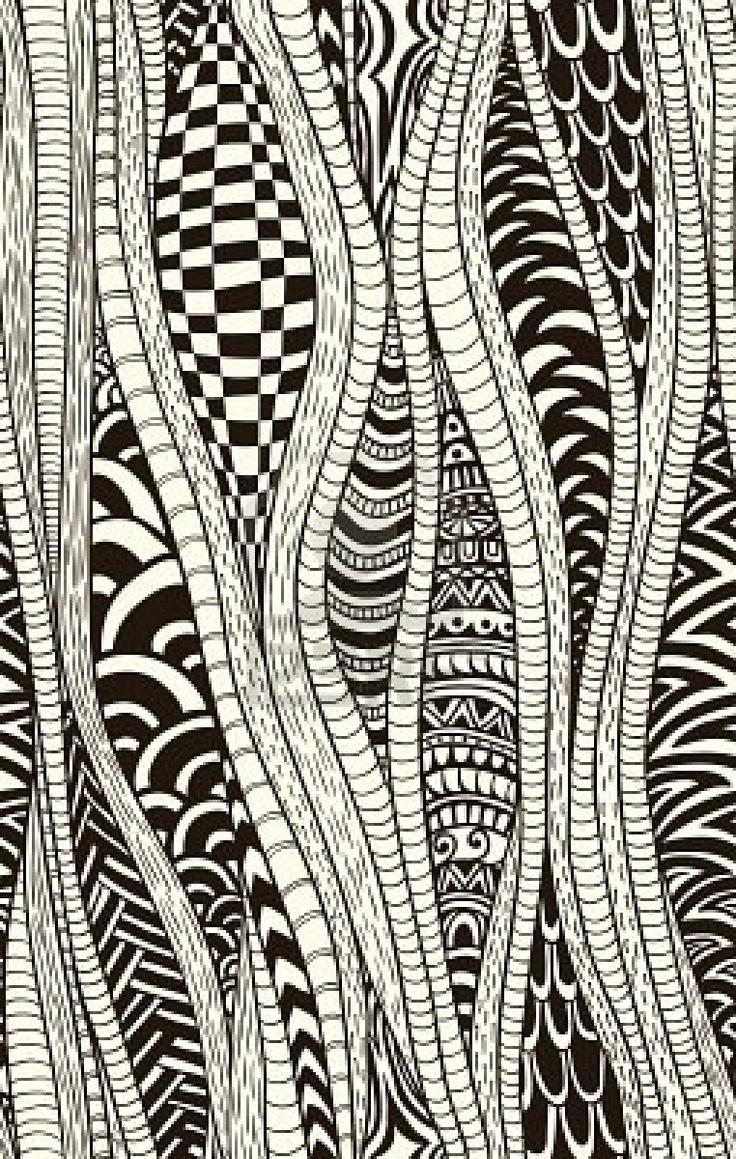 Drawn pattern Drawn Photo Artistic pattern Pinterest